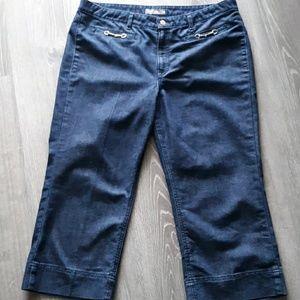 Denim - GEGRGE Jean's Crop wide leg size 16